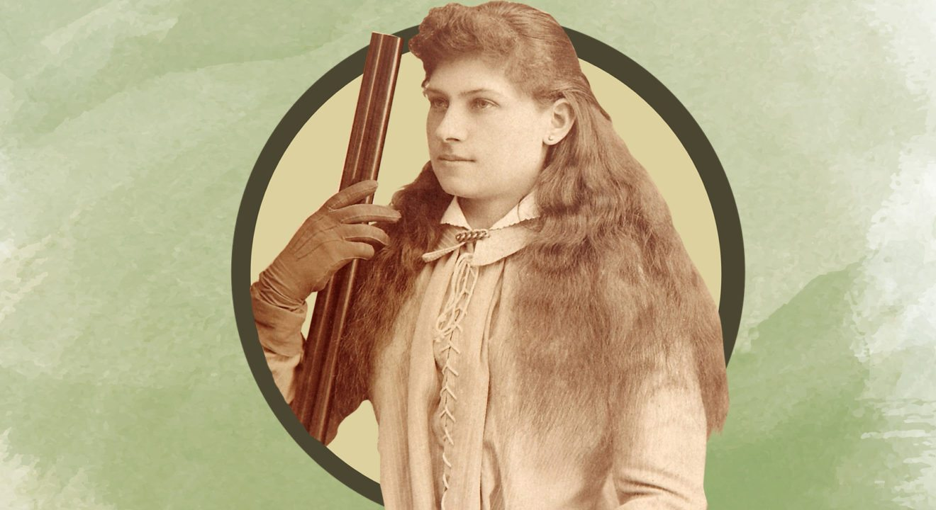 Entity explores the life of #WomenThatDid Annie Oakley.