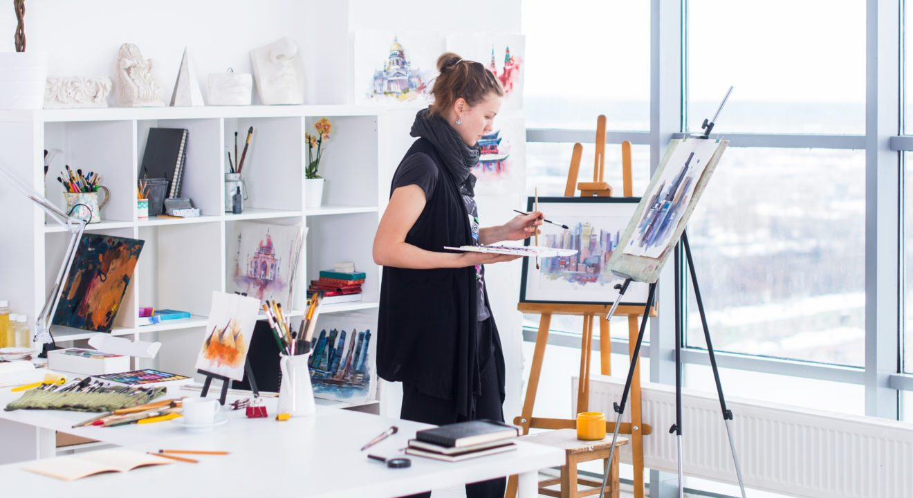 Entity explores why women should make art.