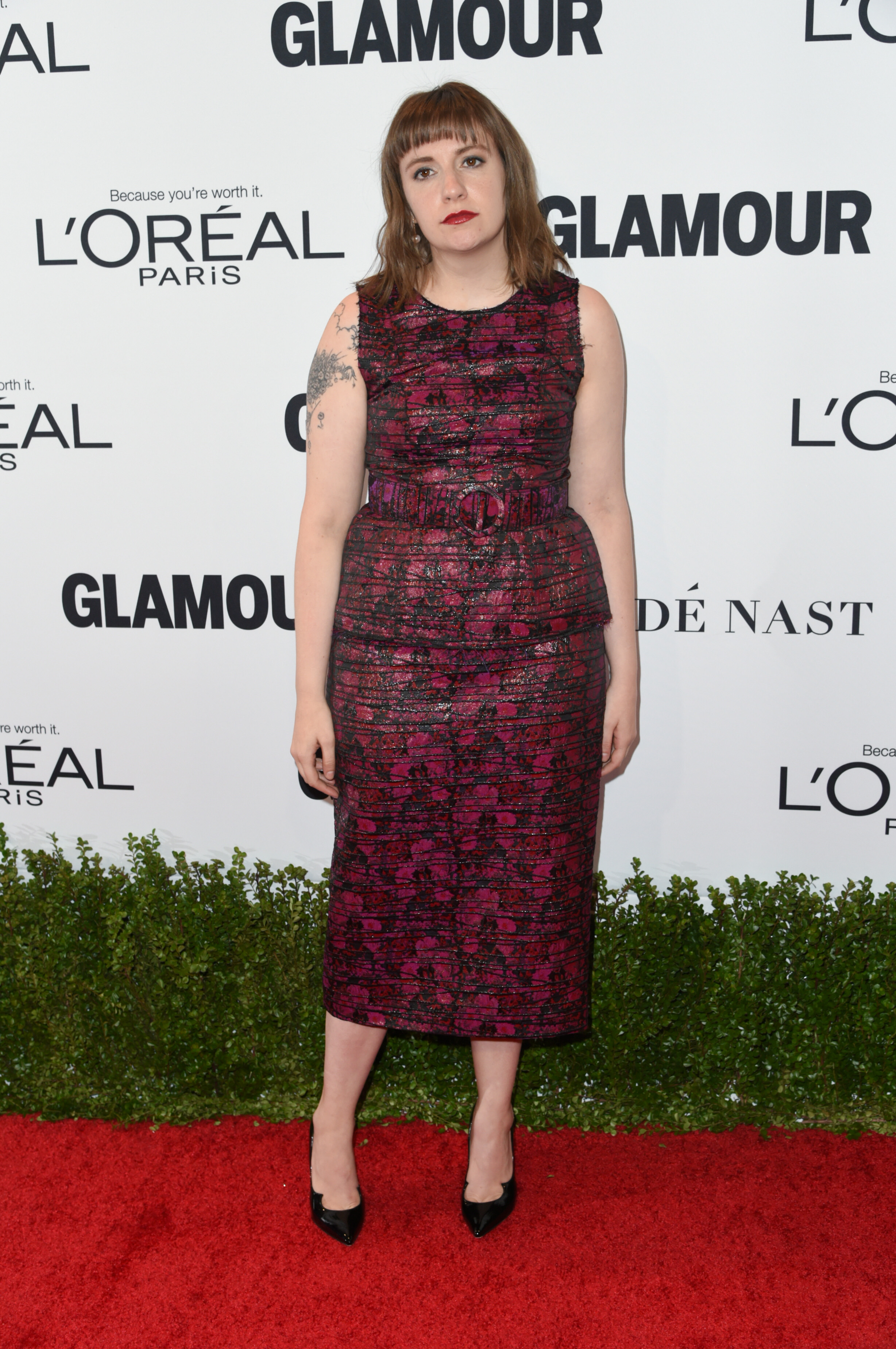 Lena Dunham at the Glamour Women of the Year party. Photo by Richard Shotwell/REX/Shutterstock