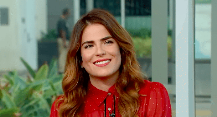 Entity reports on Karla Souza.