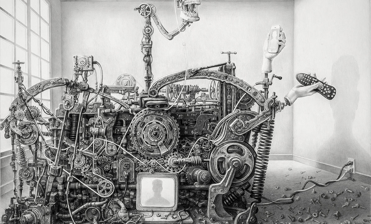 Entity interviews artist Laurie Lipton to discover how she turns technology and terror into artistic masterpieces.