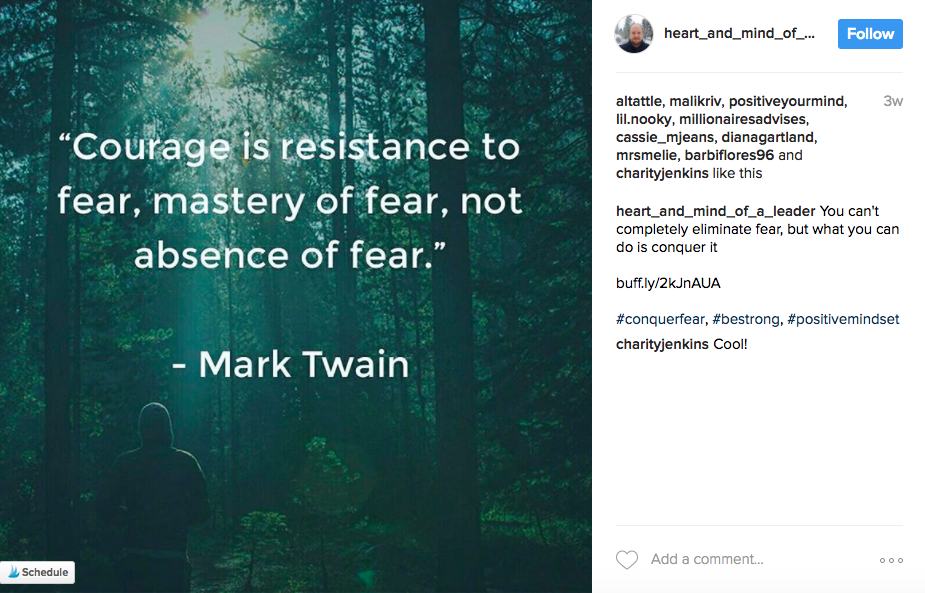 Entity reports on what a life coach has to say about fear and seven steps you can take to overcome fear!