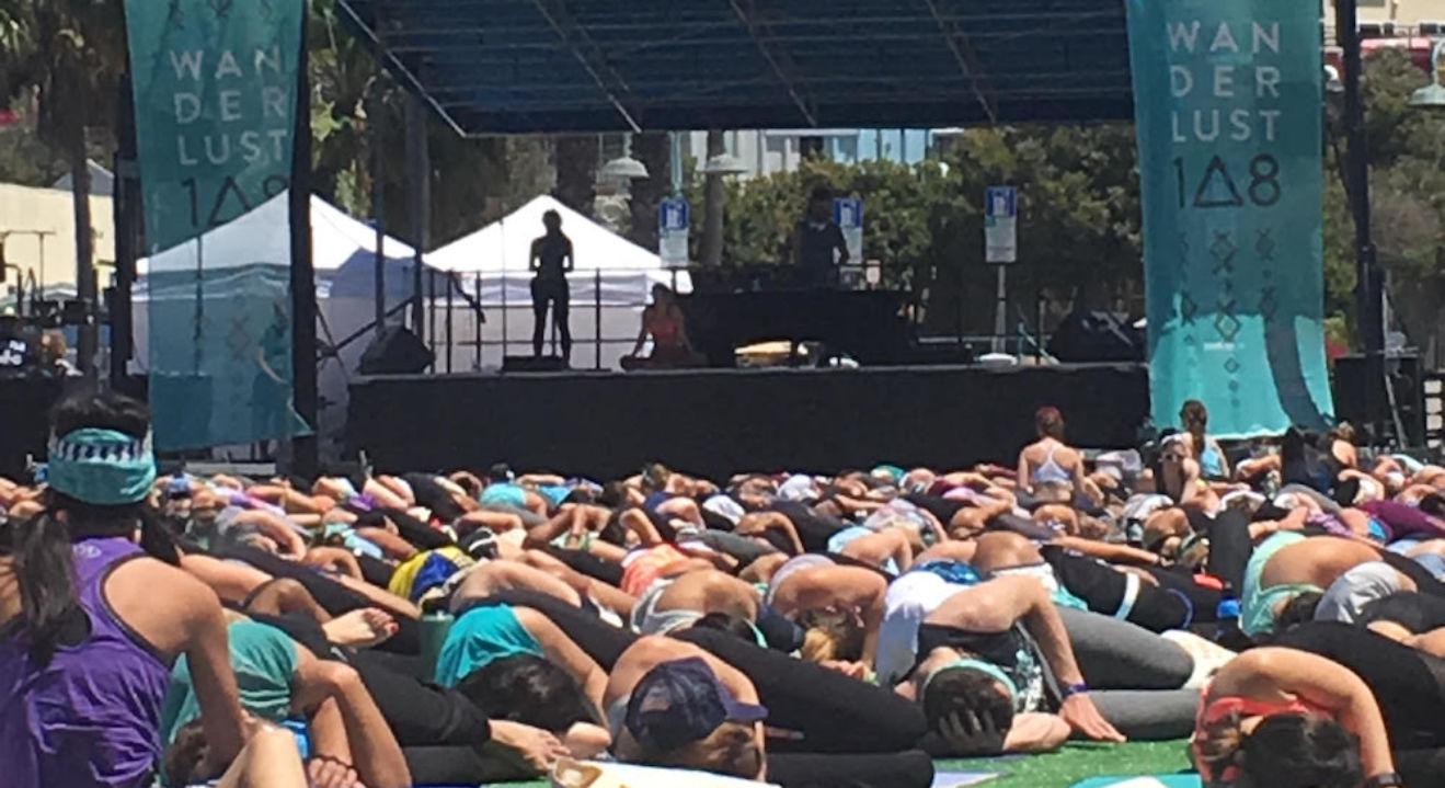 I survived Wanderlust Mindfulness Triathlon, meditation, Entity reports.