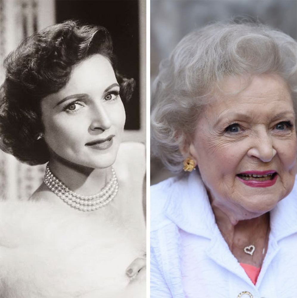 Entity discusses Betty White