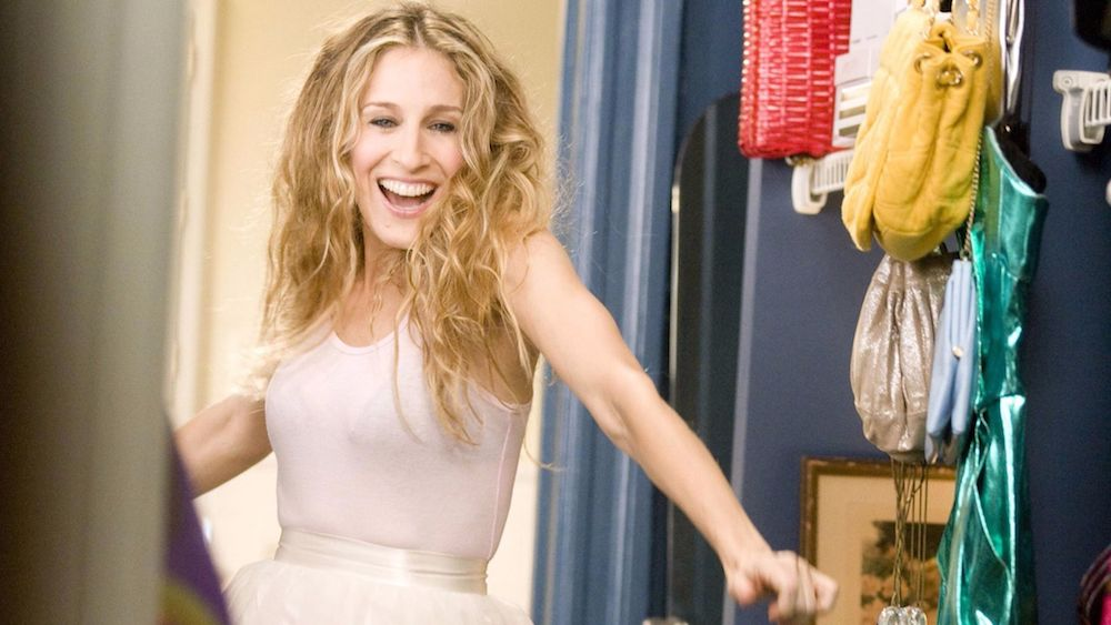 ENTITY reports on Carrie Bradshaw style.