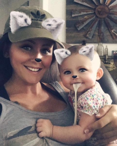 ENTITY reports on jenelle evans instagram