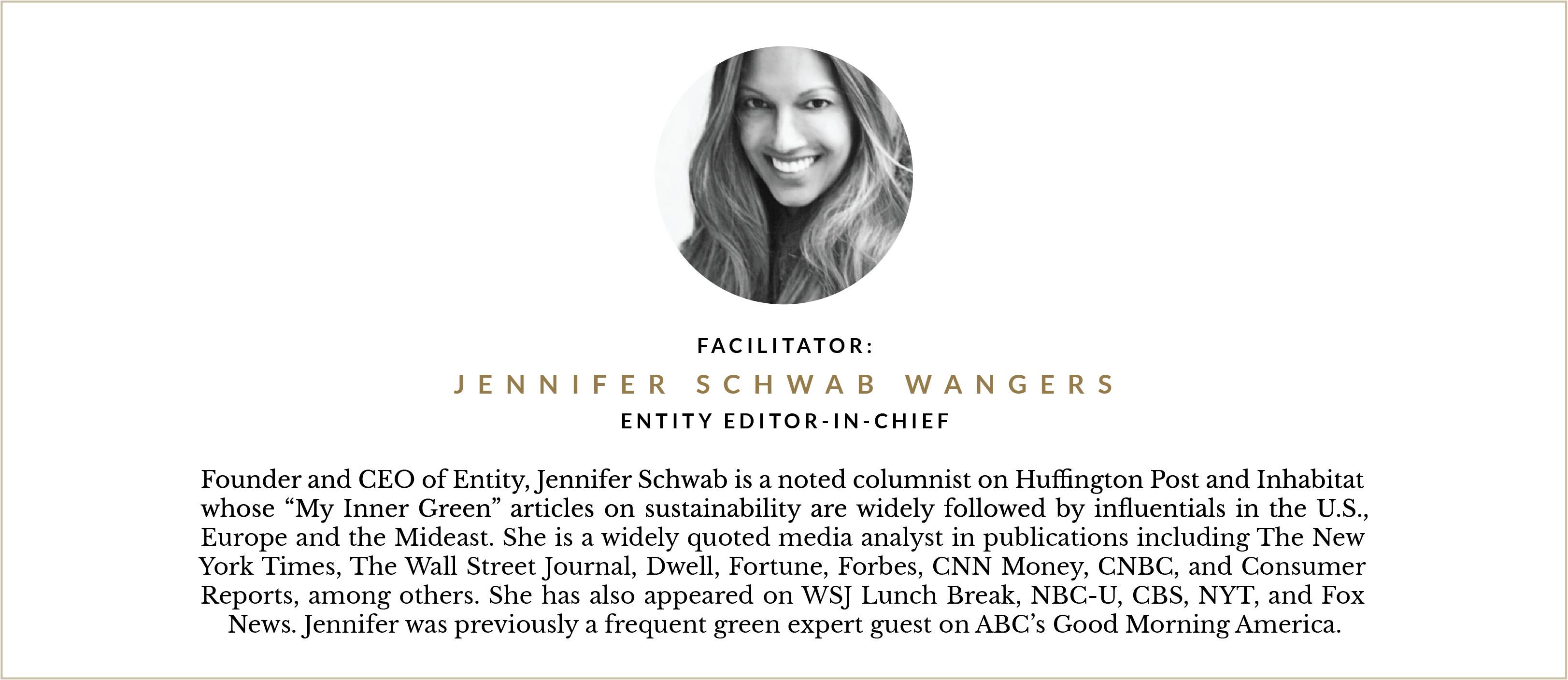 Entity CEO, Jennifer Wangers