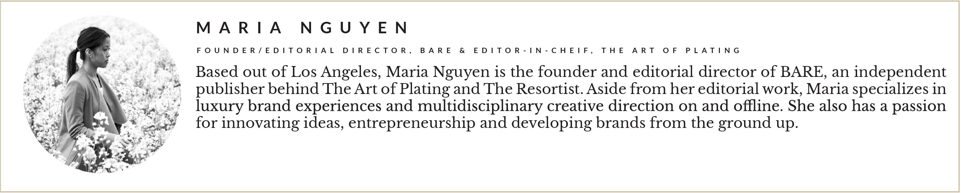 Entity presents Maria Nguyen