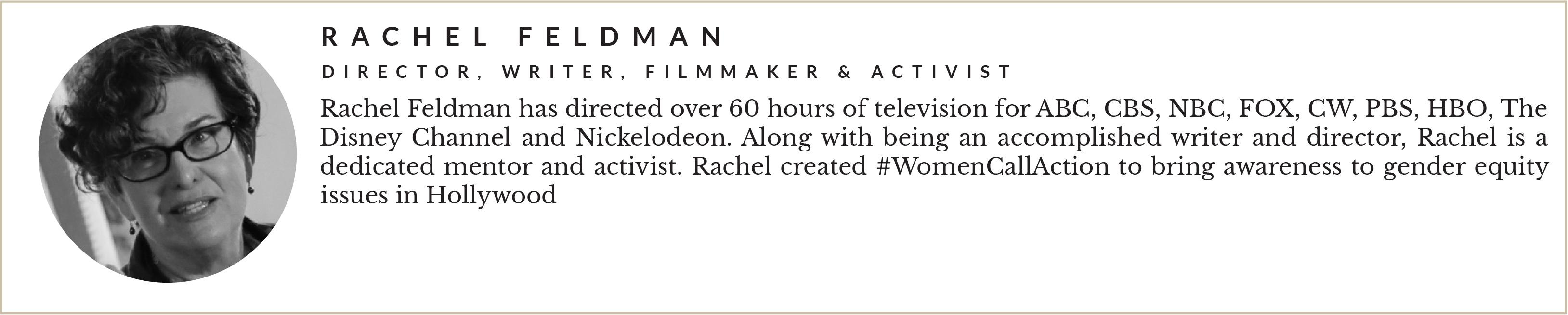 Entity presents Rachel Feldman