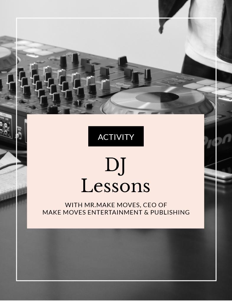 ENTITY DJ Lessons