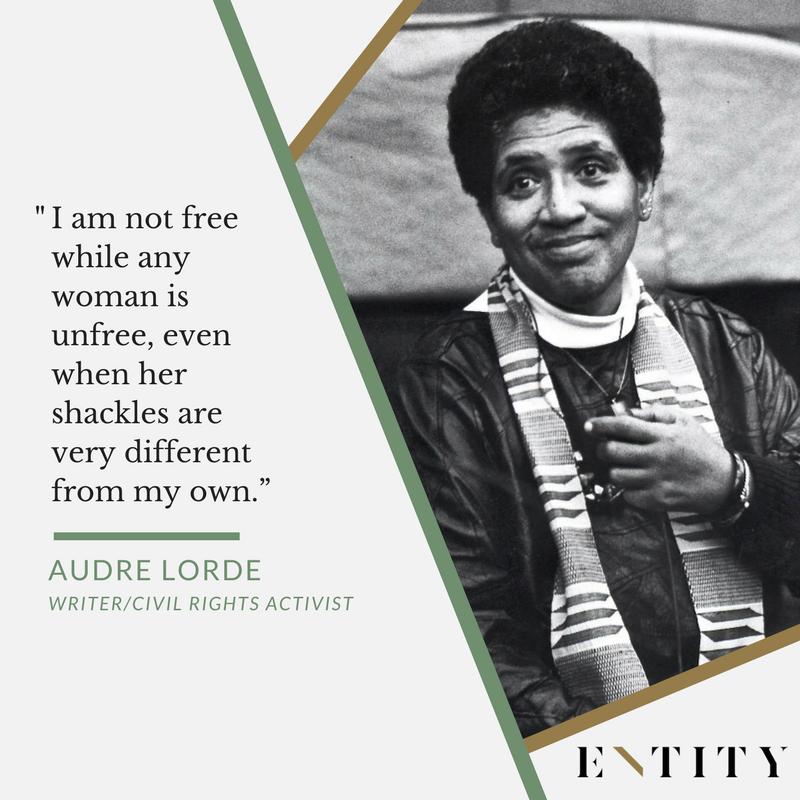 ENTITY reports on audre lorde quotes about feminism