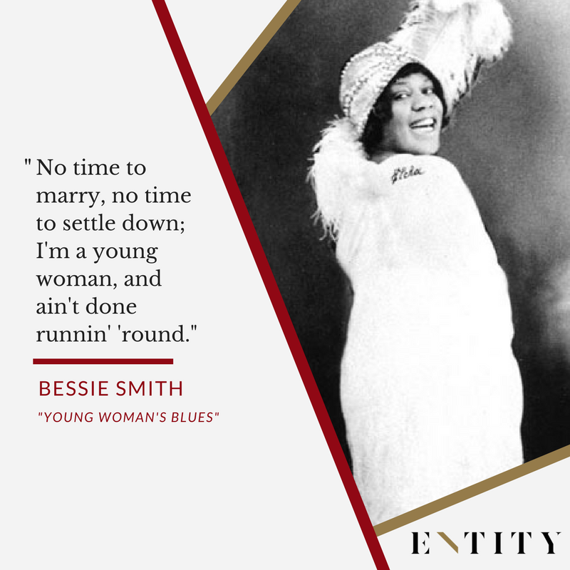 ENTITY reports on bessie smith quotes about her life