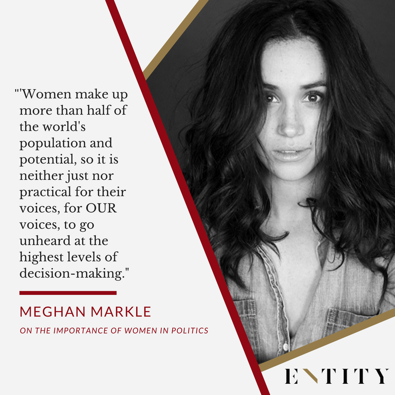 ENTITY reports on meghan markle quotes about feminism