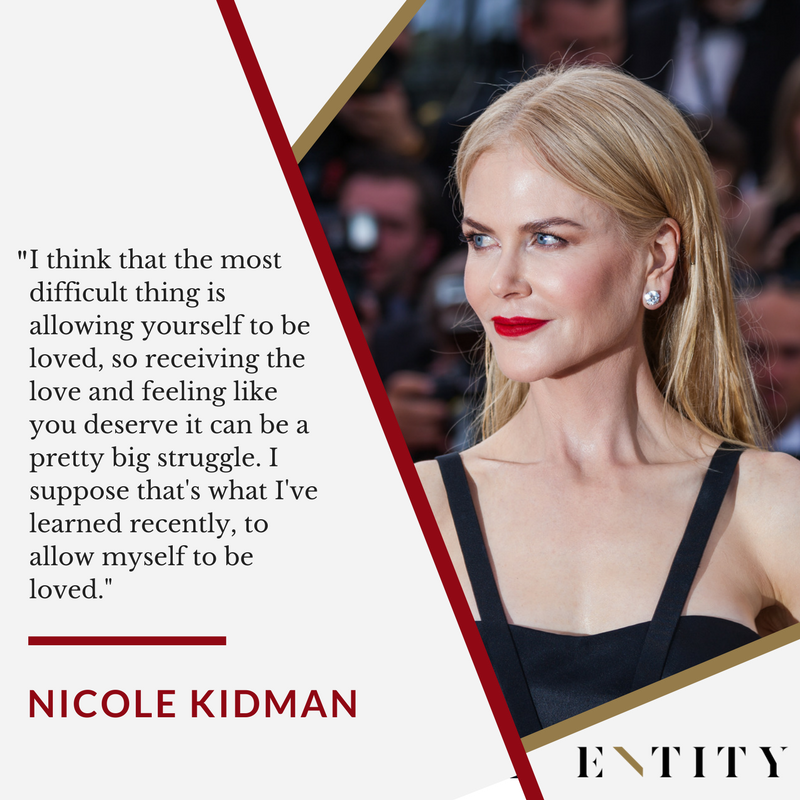 ENTITY reports on nicole kidman quotes about feminism.