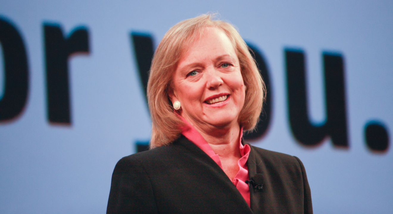 Entity reports on how Meg Whitman knows she is better than the Uber leaky board.