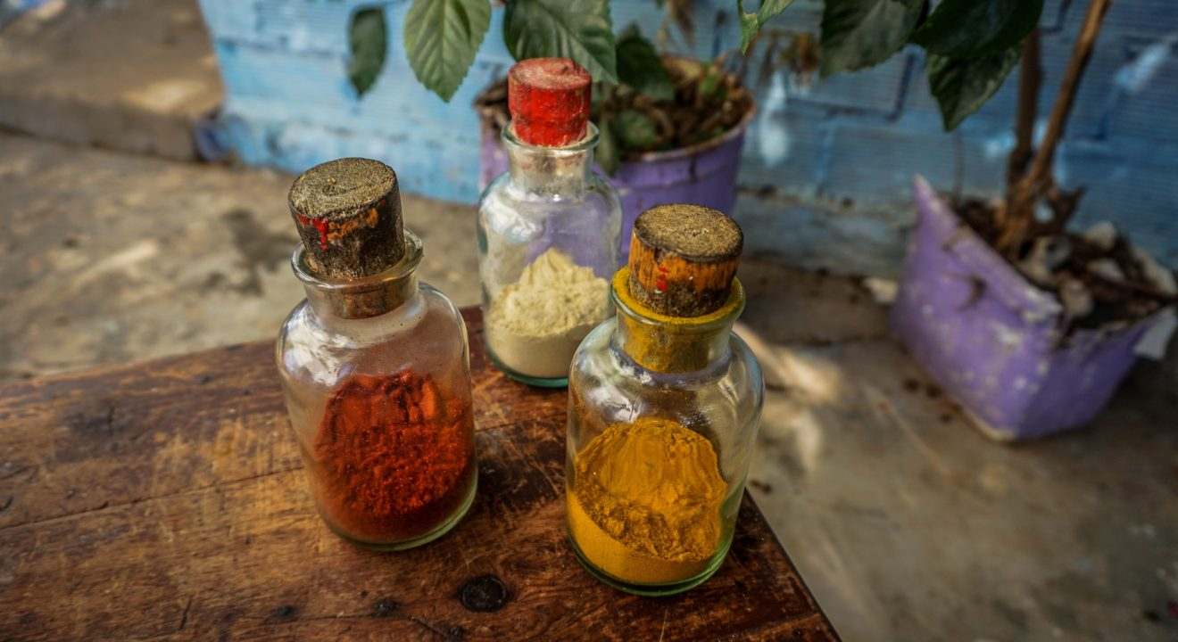 Entity story on kitchen spices