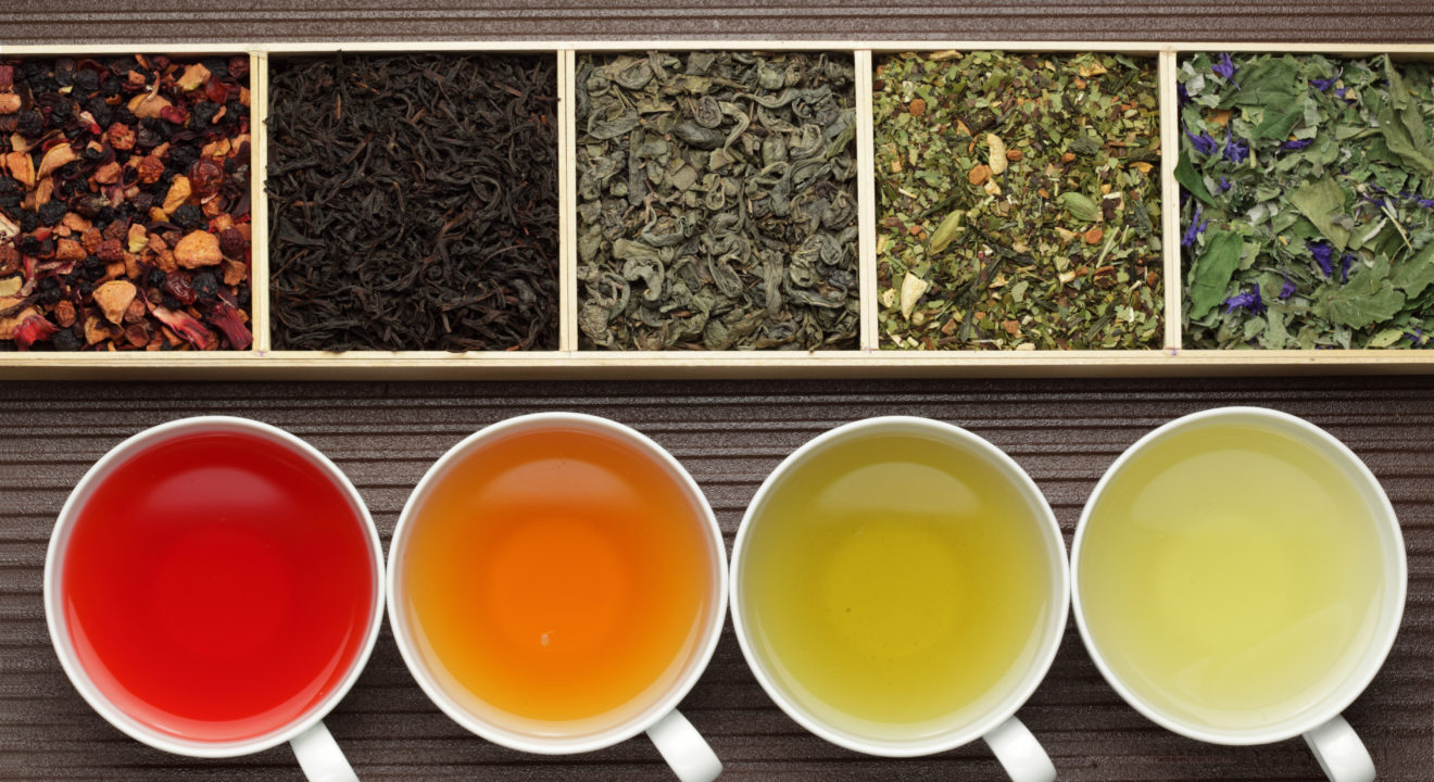 Entity story on types of tea