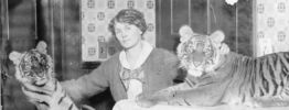 Celebrate International Women's Day With Mabel Stark, First Female Tiger Tamer