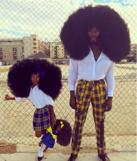 ENTITY shares story of Benny Harlem and Jaxyn Harlem who are embracing their big natural hair