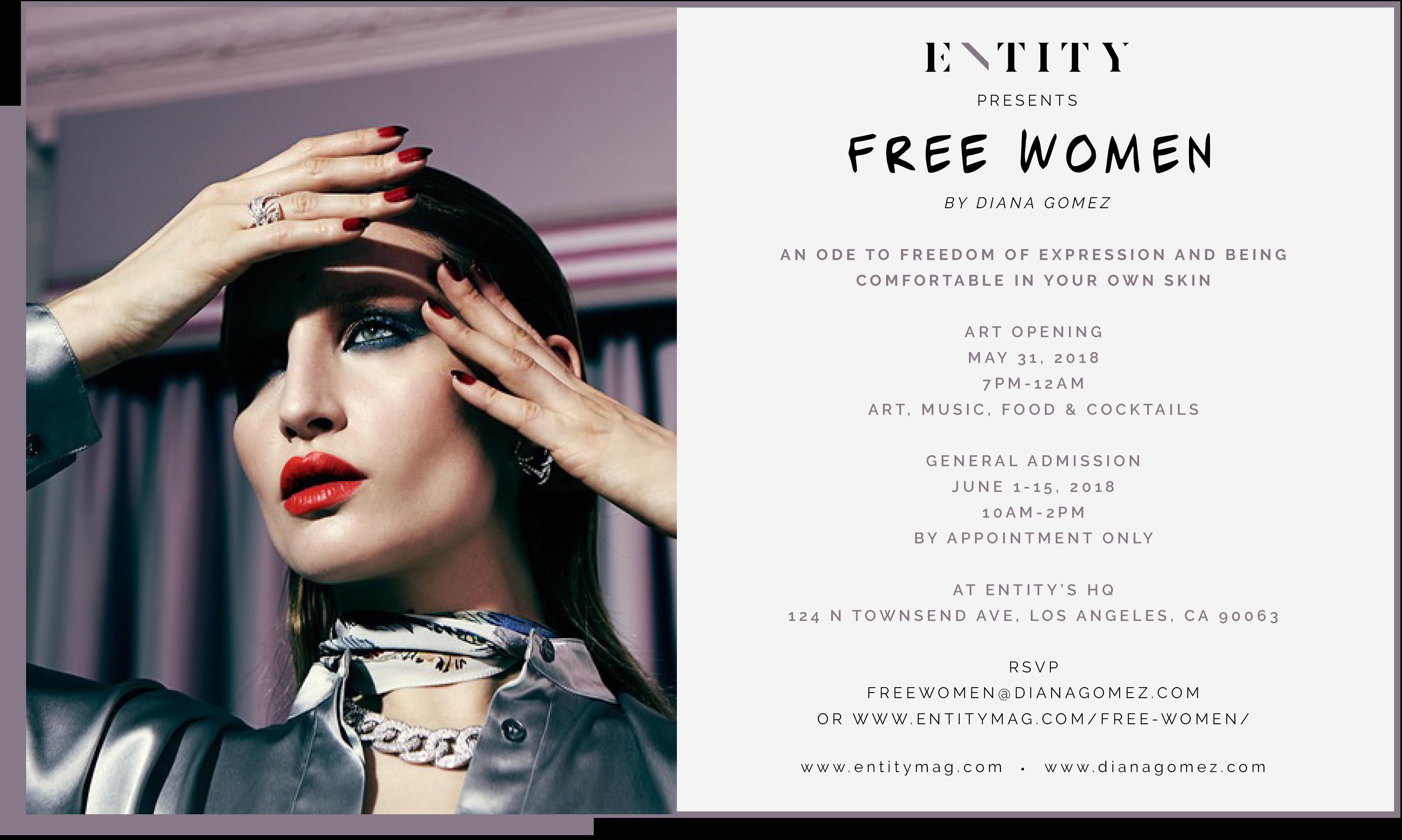 ENTITY x Free Women Art Exhibit