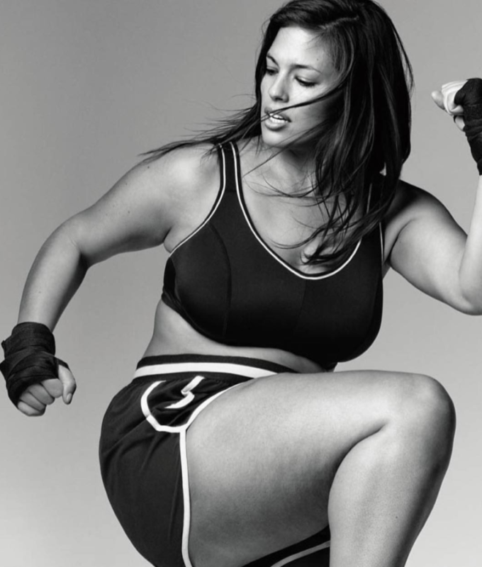 ENTITY discusses plus size Instagram fitness models.