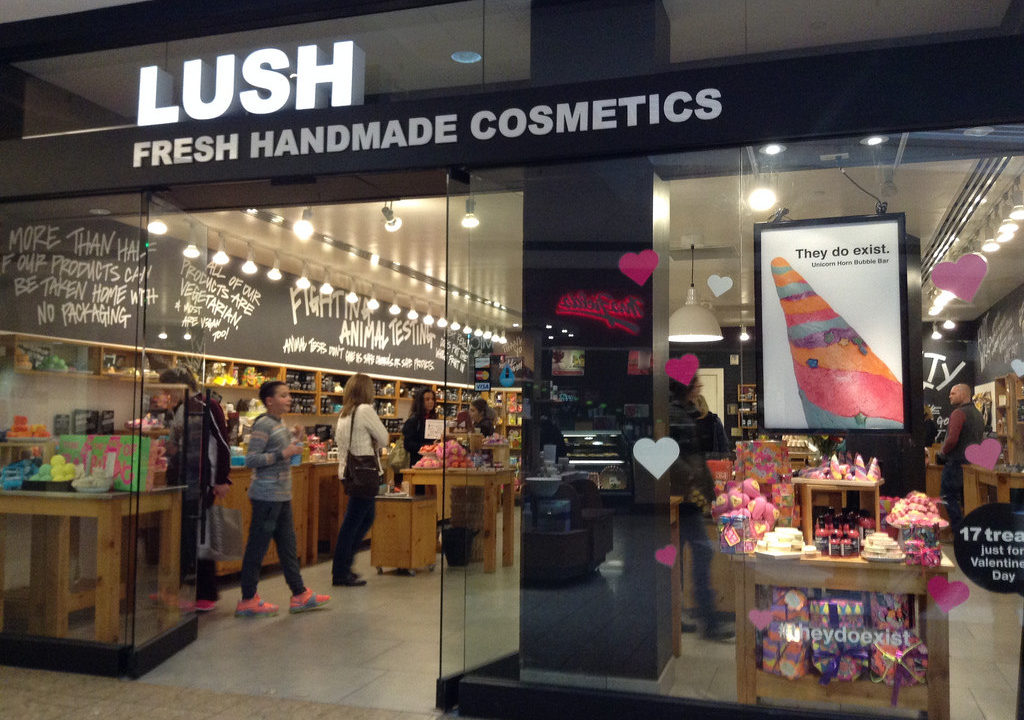 ENTITY shares the best Lush products.