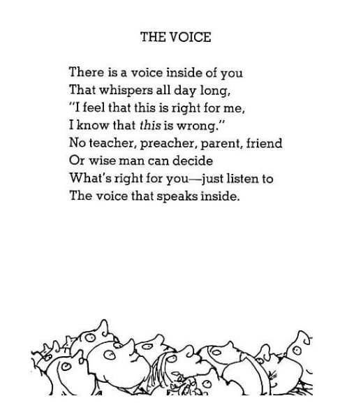 ENTITY shares 13 Shel Silverstein poems to brighten your day.