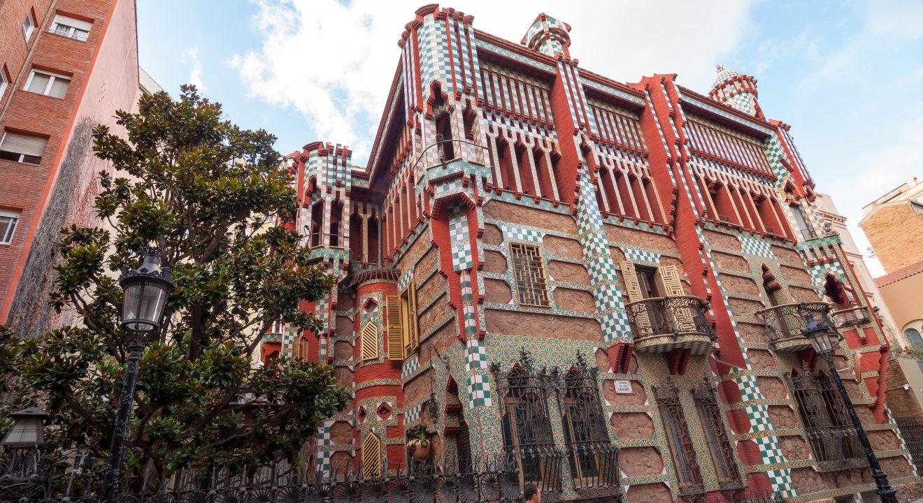 How gaud changed barcelona art entity - Casa vives gaudi ...