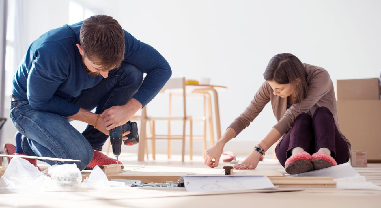 Ikea Furniture Without Fighting