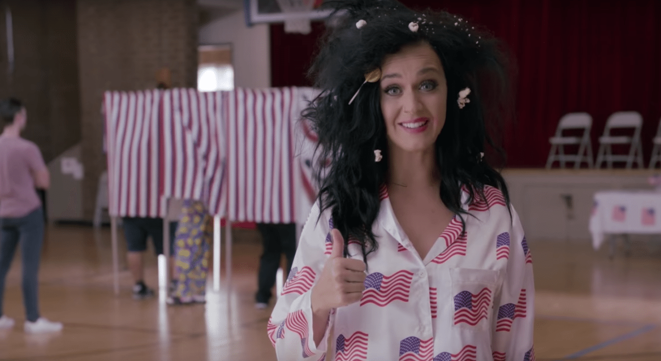 Katy Perry Votes Naked Celebs  Personas - Entity-2937