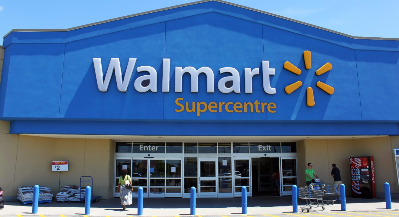 Entity reports on Walmart's green story.