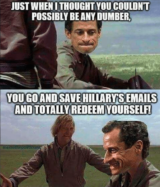 13 hillary clinton weinergate memes your inbox will thank us for laugh along as entity highlights the funniest hillary clinton anthony weiner memes on the internet solutioingenieria Images