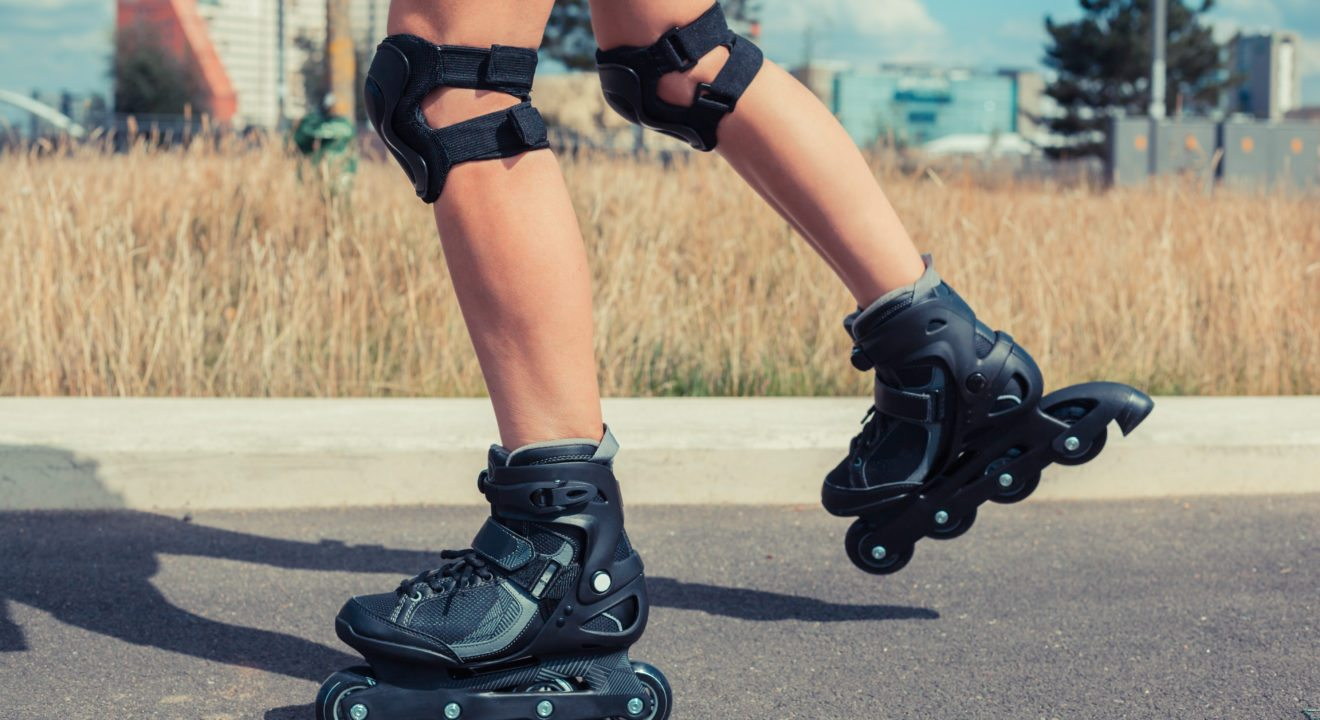 Entity shares the art of rollerblading.