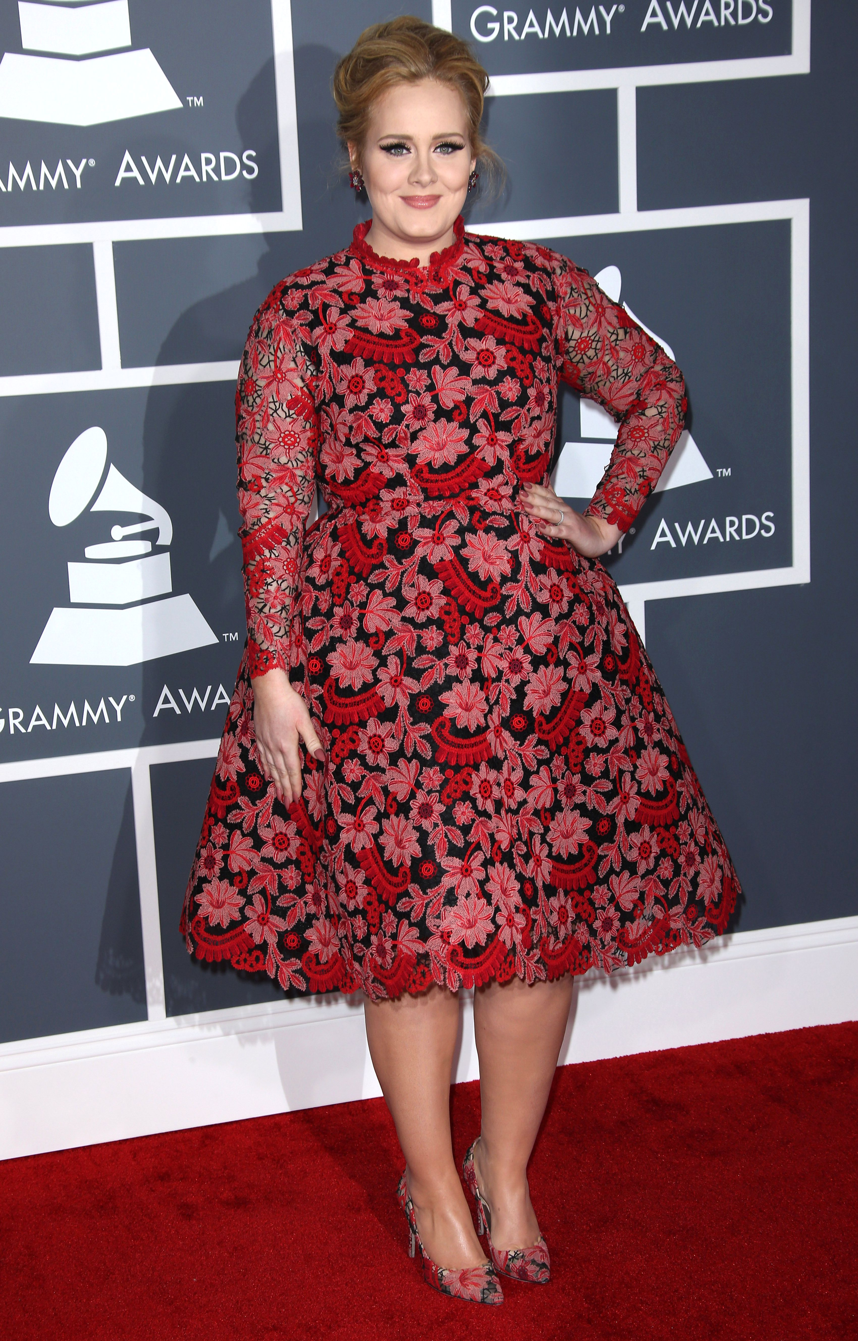 Adele at the Grammy Awards, 2013. Photo by Jim Smeal/BEI/BEI/Shutterstock