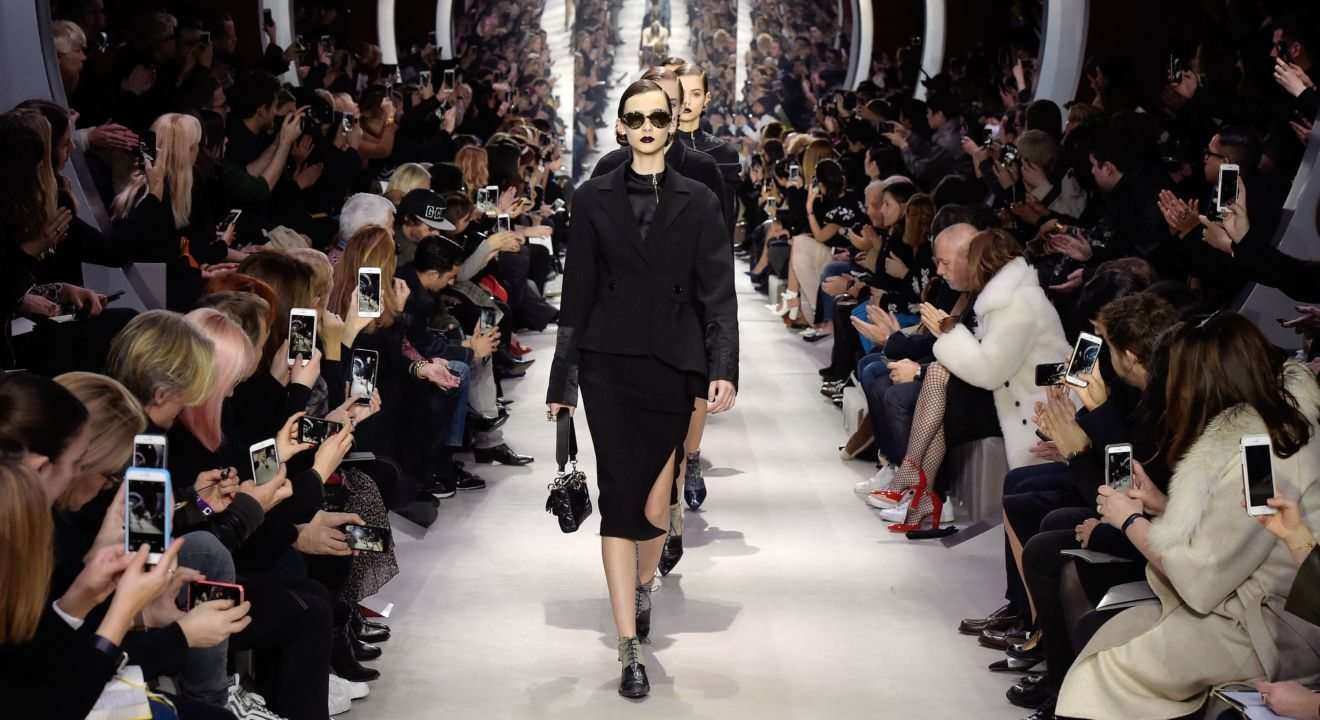 ENTITY shares the Christian Dior Runway Show.