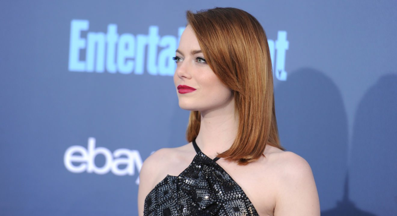 ENTITY on Emma Stone at the 22nd Annual Critics' Choice Awards in 2016.
