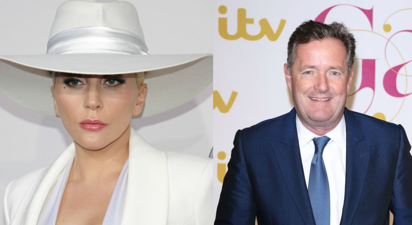 ENTITY reports on Lady Gaga and Piers Morgan discussing PTSD.