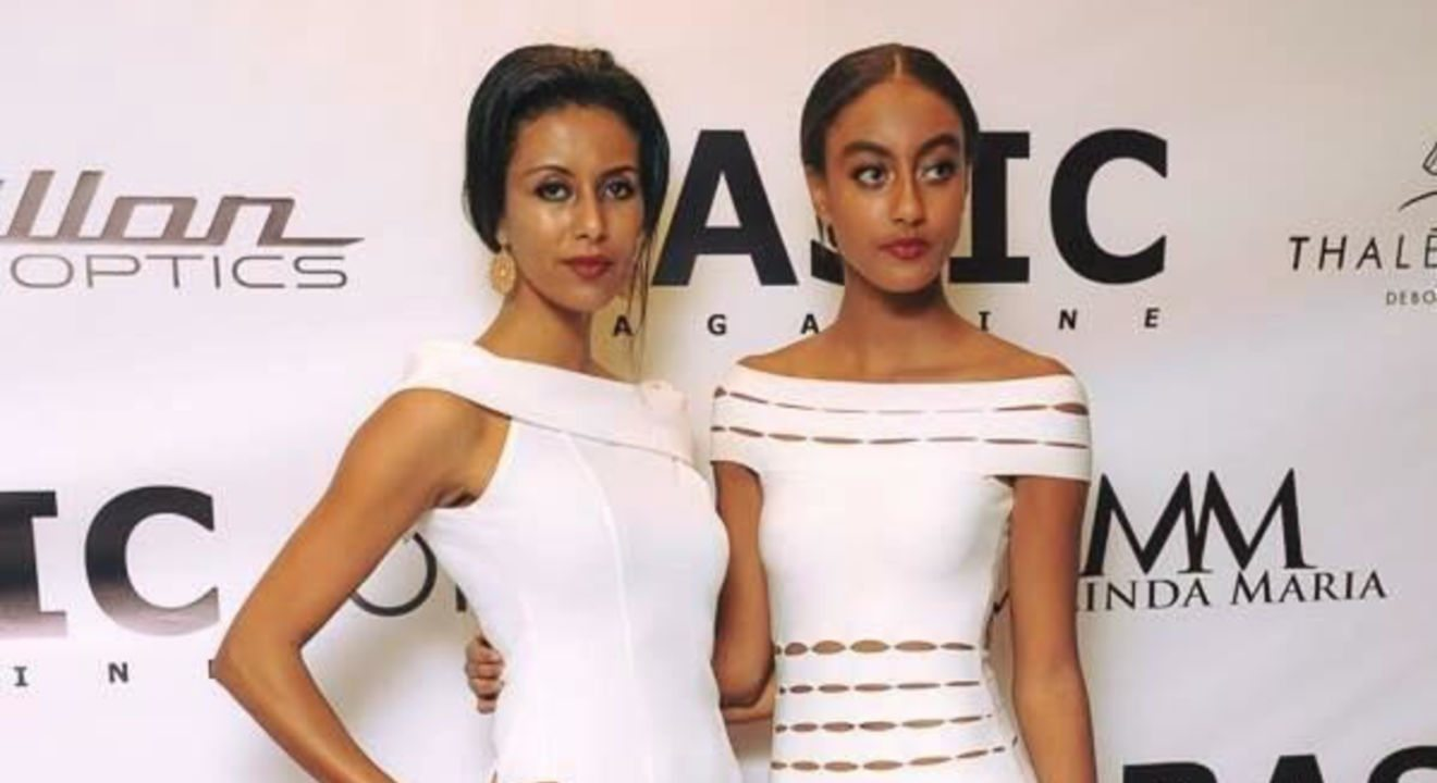 Feben Yohannes and her daughter embody the qualities of an ENTITY renaissance women on the red carpet.