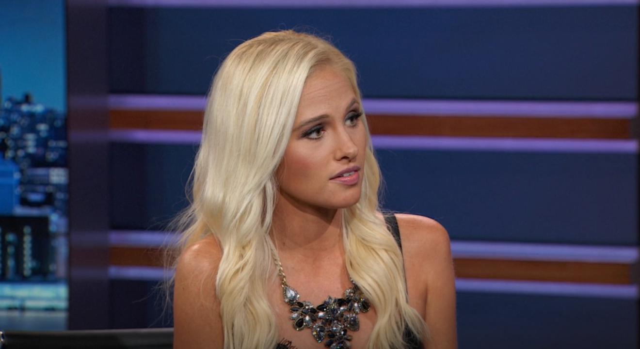 Entity shares video of Tomi Lahren clashing with Trevor Noah on the Daily Show.