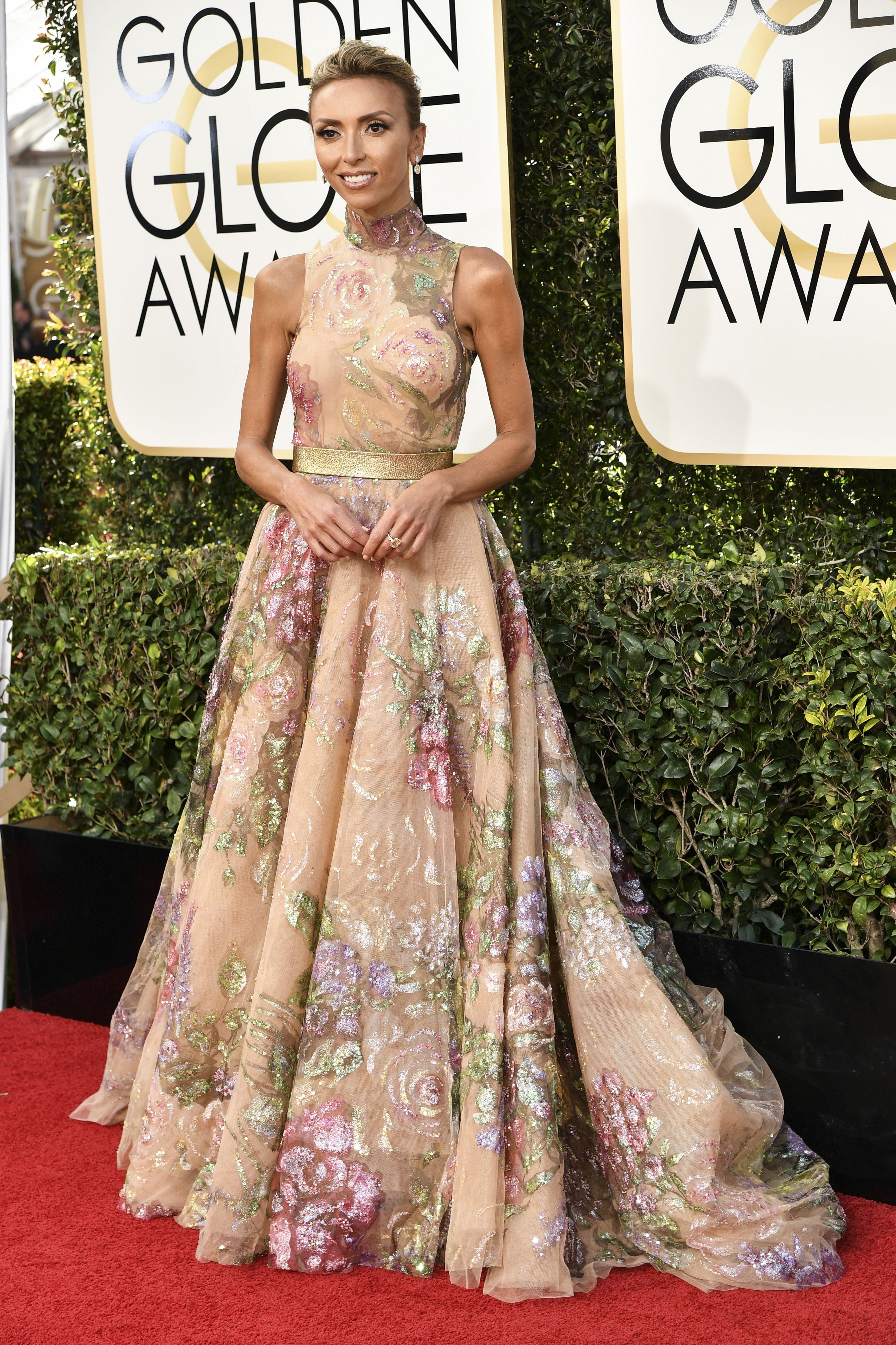 Giuliana Rancic, Golden Globes. Mandatory Credit: Photo by Rob Latour/REX/Shutterstock