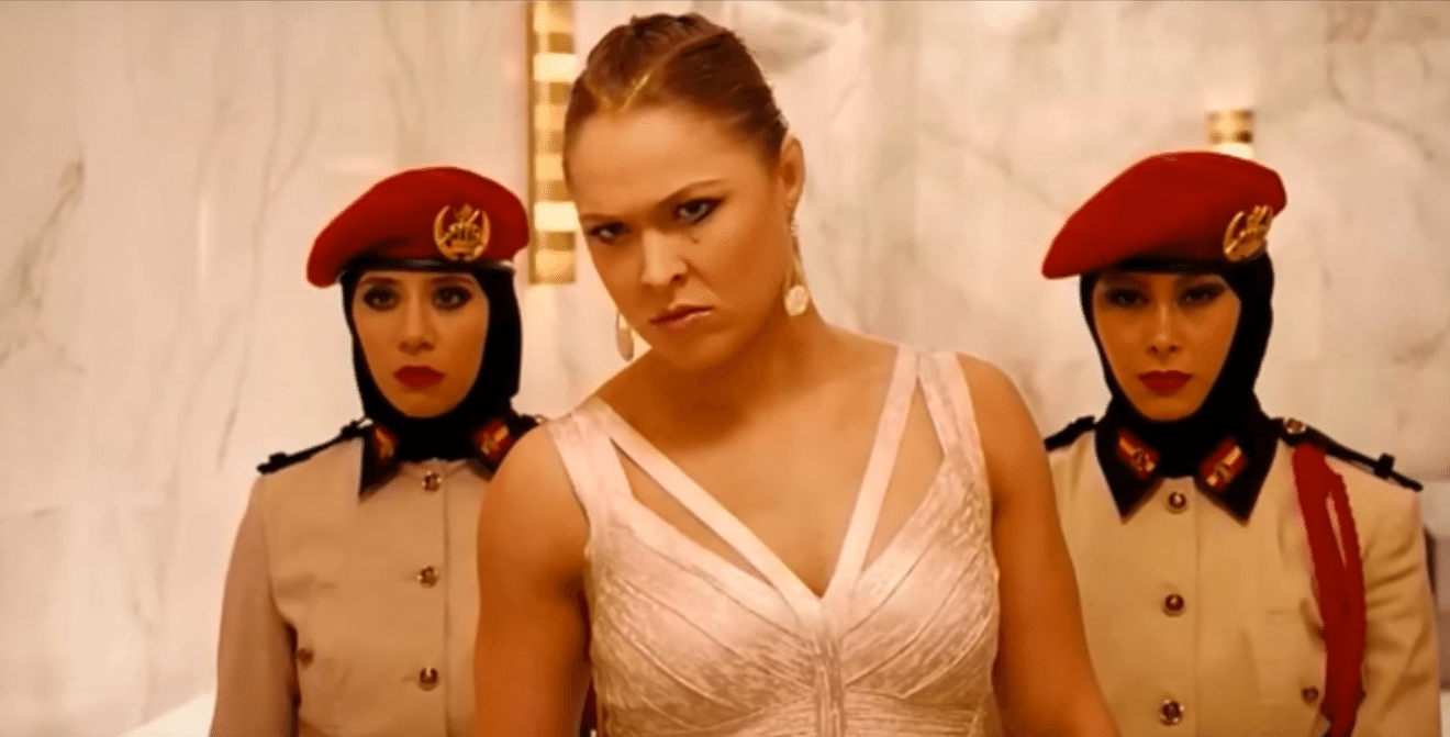 Entity speculates that Ronda Rousey could be an actor after retiring MMA.