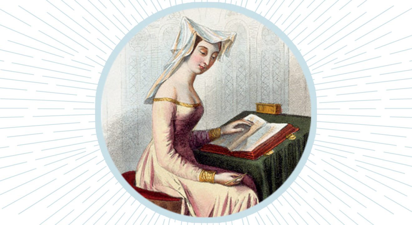 Entity shares the life of Christine de Pizan, one of the famous women in history.