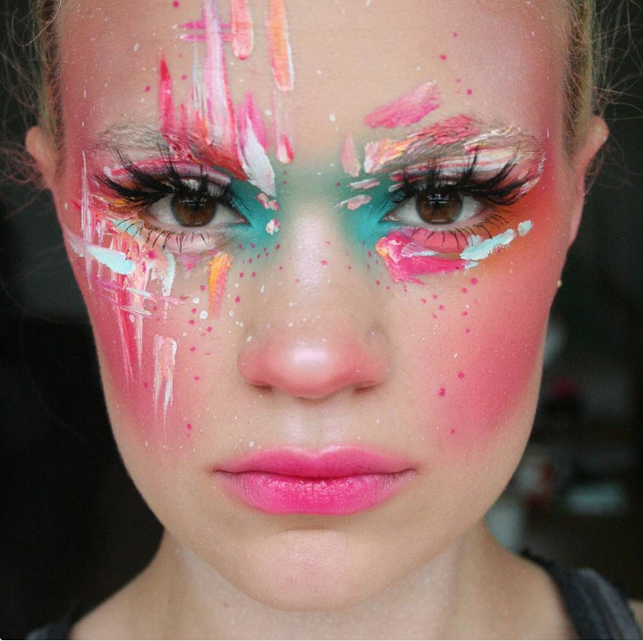 How This Avant Garde Makeup Artist Is Owning Instagram