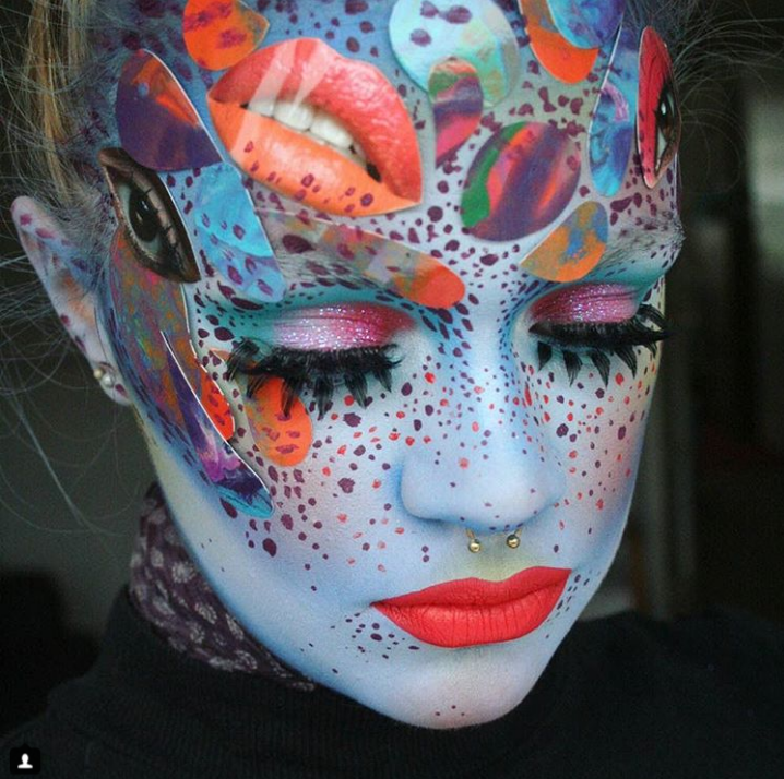 ENTITY interviews Instagram avant garde makeup artist, Heather Moorhouse.