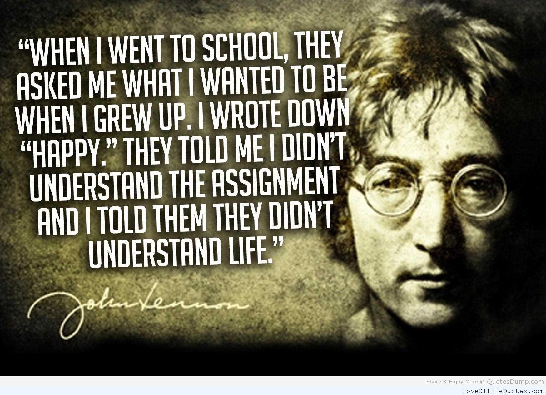 John Lennon Quote Entity Entity