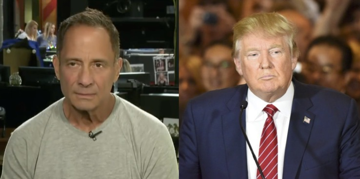 Entity reports on Donald Trump and TMZ Founder Harvey Levin.