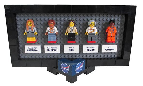 Entity shows sexist backlash Lego women of NASA collection.