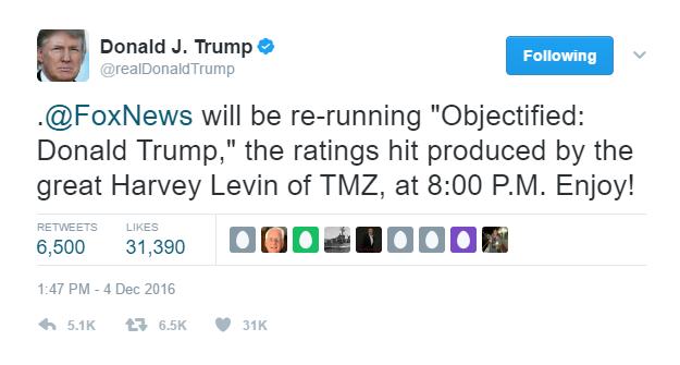 "Donald Trump Harvey Levin ""Objectified"""