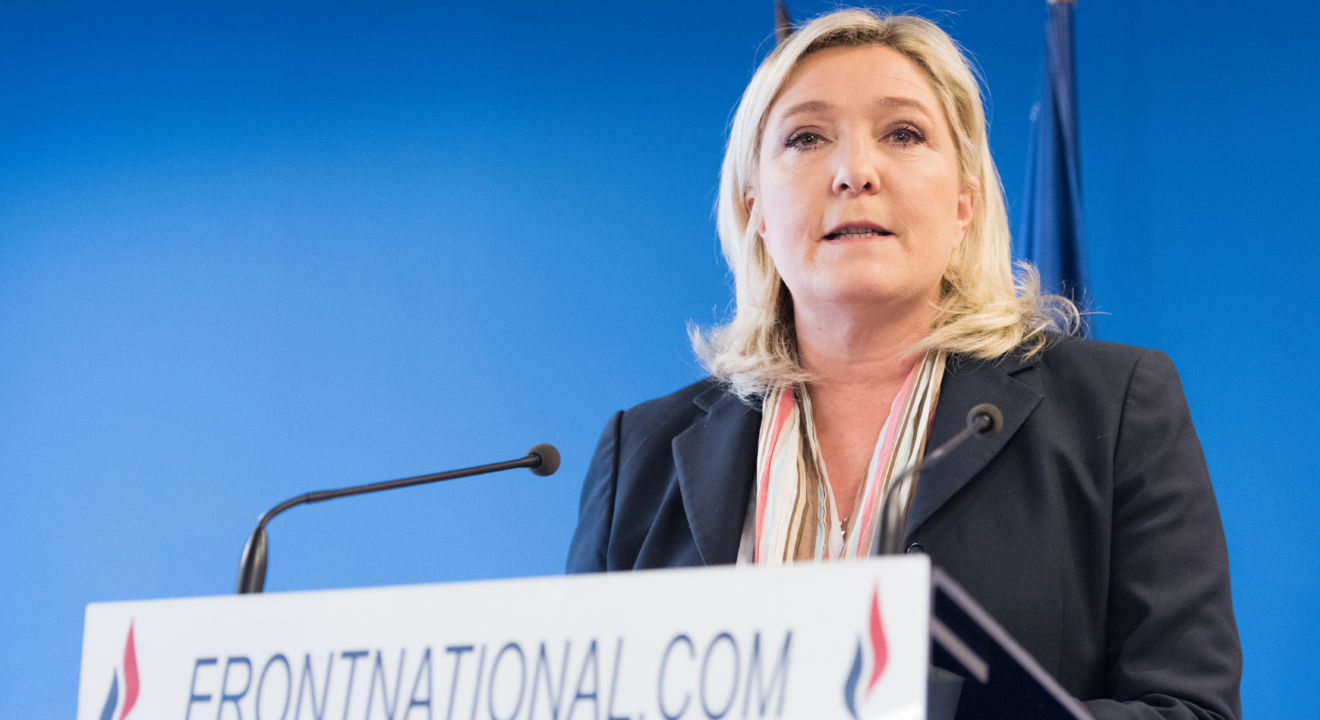 ENTITY explores the dangers of Marine Le Pen president.