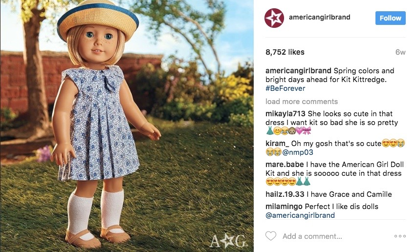 Entity shares our five favorite American girl dolls!
